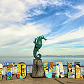 The Boy On The Seahorse Pano by Paul LeSage