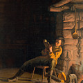 The Boyhood Of Lincoln by Granger