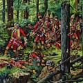 The Braddock Massacre by Ron Embleton
