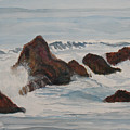 The Breakers At Seal Rock II by Jenny Armitage