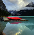 The Breathtakingly Beautiful Lake Louise II by Wayne Moran