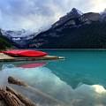 The Breathtakingly Beautiful Lake Louise Iv by Wayne Moran
