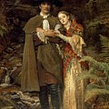 The Bride Of Lammermoor by Sir John Everett Millais