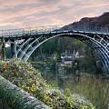The Bridge Across The Severn Gorge by Simon Hark
