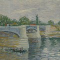 The Bridge At Courbevoie Paris, May - July 1887 Vincent Van Gogh 1853  1890 by Artistic Panda