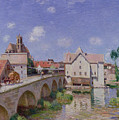 The Bridge At Moret by Alfred Sisley