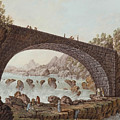 The Bridge At The Border Between France And Savoy by MotionAge Designs