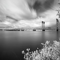 The Bridge Crosses Columbia River by William Freebilly photography