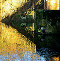 The Bridge On The River And Its Shadow. by Alexander Vinogradov