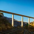 The Bridge Over The Railways by Jorge Murguia