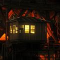 The Bridge Tenders House by David Lee Thompson