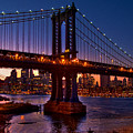 The Bridges At Dusk by Chris Lord