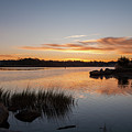 The Brink - Pawcatuck River Sunrise by Kirkodd Photography Of New England