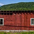 The Broadside Of A Barn by James Aiken