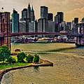 Vintage Brooklyn Bridge by Chris Lord