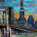 The Brooklyn Bridge by Frances Marino