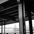 The Brooklyng Bridge And Manhattan Bridge From Fdr Drive by PorqueNo Studios
