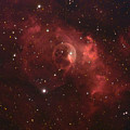 The Bubble Nebula by Charles Warren