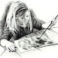 The Budding Artist by Joyce Geleynse