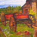 The Buggy, 11x14, Oil, '07 by Lac Buffamonti