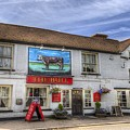 The Bull Pub Theydon Bois Panorama by David Pyatt