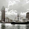 The Bund - Old Shanghai China - A Museum Of International Architecture by Christine Till