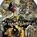 The Burial Of The Count Of Orgaz 1587 by El Greco