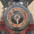The Burrell Road Locomotive by Richard Picton