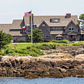 The Bush Compound Kennebunkport Maine by Brian MacLean