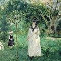 The Butterfly Hunt by Berthe Morisot