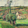 The Cabbage Slopes by Camille Pissarro