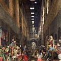 The Cairo Bazaar by John Frederick