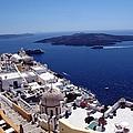 The Caldera, Santorini by Martine Murphy