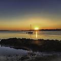 The Calm At Sunrise by Mary Lou Chmura