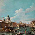 The Cannament Of The Great Canal by Giovanni Antonio Canal