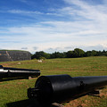 The Cannons At Fort Moultrie In Charleston by Susanne Van Hulst