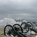 The Cannons At Shipka by Iglika Milcheva-Godfrey