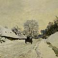 The Cart by Claude Monet