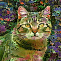 The Cat Who Loved Flowers 1 by Peggy Collins