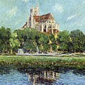 The Cathedral At Auxerre by Gustave Loiseau