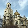 The Cathedral In Varna by Iglika Milcheva-Godfrey