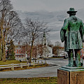 The Center Of Grafton Ma by Bill Dussault