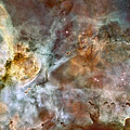 The Central Region Of The Carina Nebula by Stocktrek Images