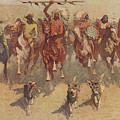 The Ceremony Of The Scalps by Frederic Remington