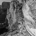 The Chains At Angels Landing  by John McGraw