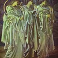 The Challenge In The Wilderness 1898 by BurneJones Edward