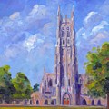 The Chapel At Duke University by Jeff Pittman