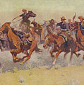 The Charge by Frederic Remington