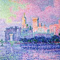 The Chateau Des Papes by Paul Signac