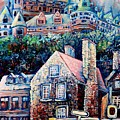 The Chateau Frontenac by Carole Spandau